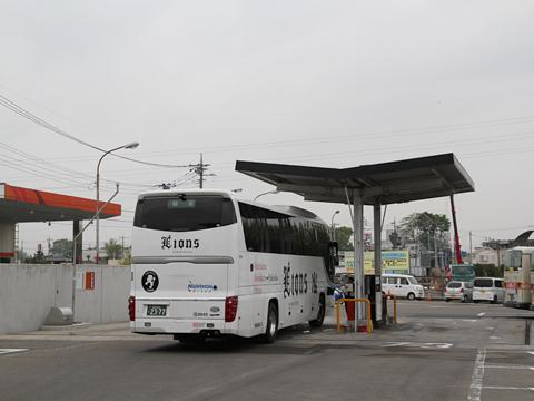 西鉄高速バス「ライオンズエクスプレス」 8545<br />  西武バス大宮営業所到着 その2