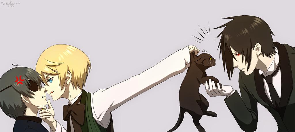 Black Butler Chibi Alois And Ciel