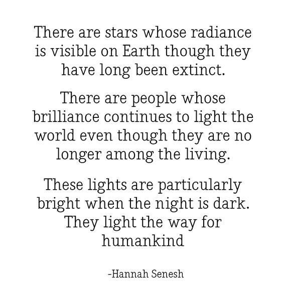 stars light the way -- senesh