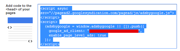 adsense page-level ads code