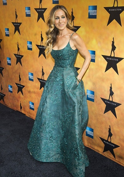 Sarah-Jessica-Parker-Hamilton-Broadway-Opening-elie-saab-couture-1