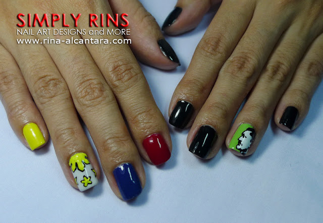Jose Rizal nail art design 05