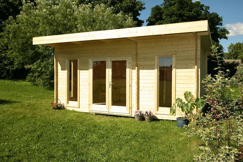 Installer son bureau dans son jardin habitatpresto