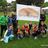 Sponsorloop op Basisschool de Berckacker te Veldhoven 2013
