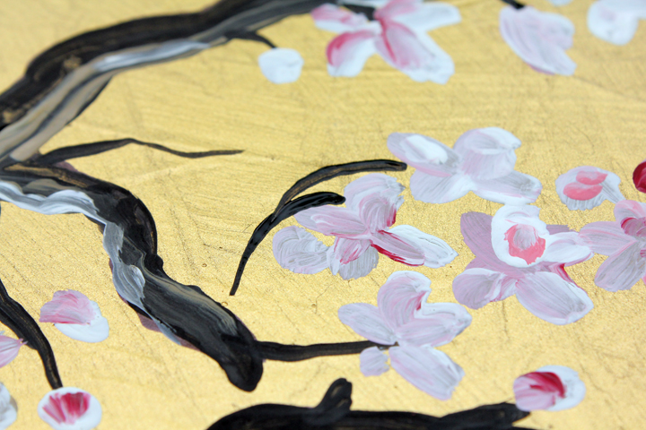365 Days to Simplicity: Japanese Cherry Blossom Wall Art