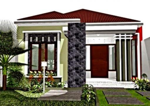 gambar model depan rumah gallery taman minimalis