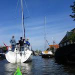 143-We varen terug over de Diepe Dolte en zetten koers naar de Nauwe Larts.