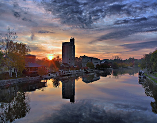 Sunrise~Schoen Place~Pittsford NY~102311 Photo by Carl Crumley