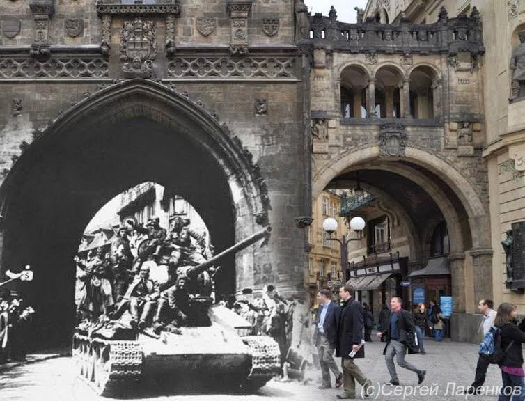 Praga durante a Segunda Guerra