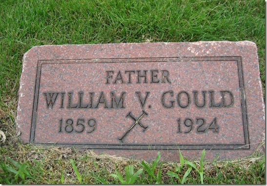 Gould_William V_headstone_1859-1924_MtOlivetCem_DetroitWayenMichigan