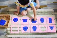 Hands-on Learning of Geometric Shapes