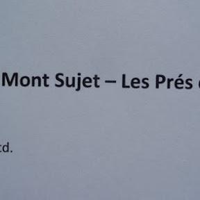 Wanderung Nods - Mont Sujet
