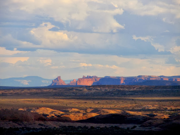 View toward the Maze district of Canyonlands