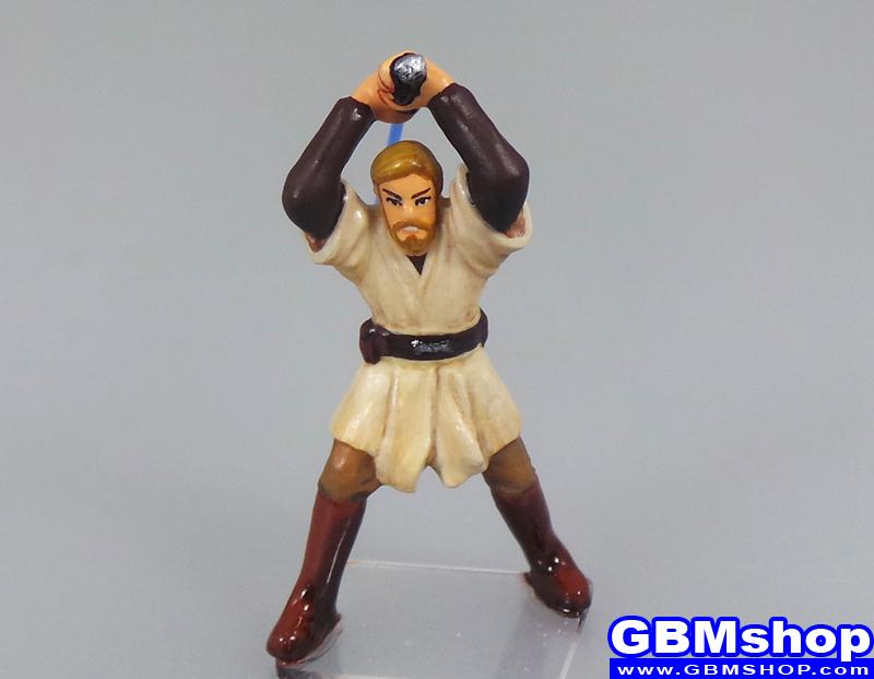 star wars miniature Imperial Assault Obi Wan Kenobi  Jedi Master #15 Revenge of the Sith Star Wars Miniatures Custom Customize and Painting