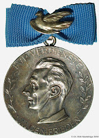 0144 Friedensmedaille Silber medailles