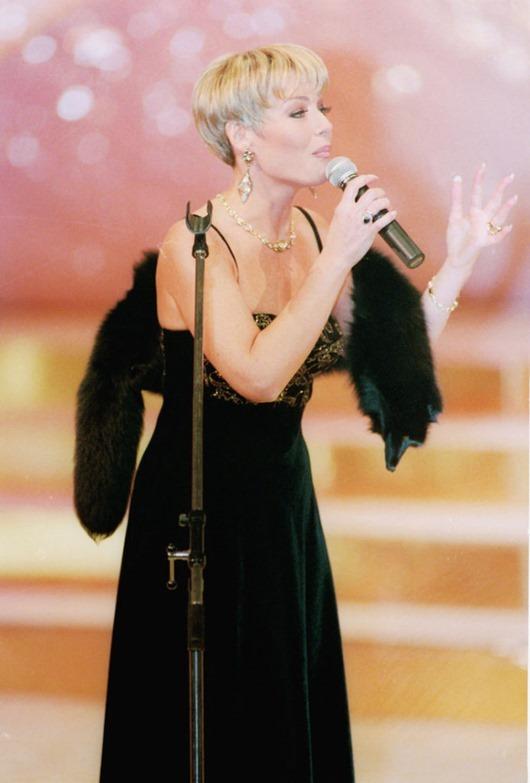 Понаровская Ирина, популярная эстрадная певица, 1995 год