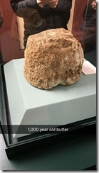 Ancient butter