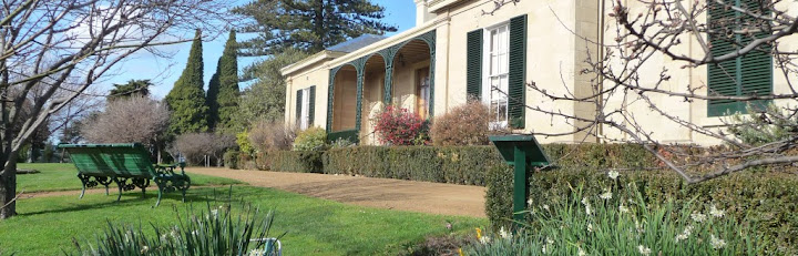 The historic Runnymede garden features many historic trees and plants.