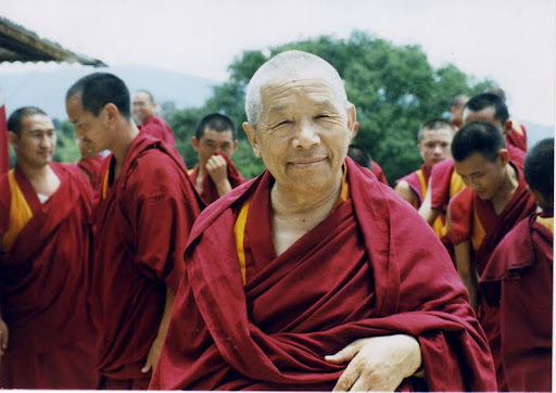 Khensur Rinpoche Lama Lhundrup, Kopan Monastery, Nepal, 2003. Photo courtesy of Kopan Monstery.