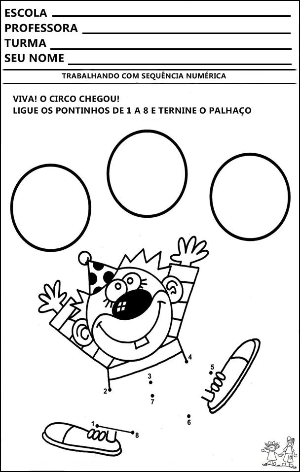 Atividades Dia Do Circo Atividades Prontas De Circo Atividades De