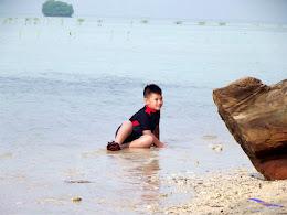 family trip pulau pari 090716 Fuji 177