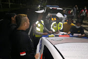 Antisipasi Balap Liar dan Knalpot Brong, Polres Madiun Gelar Patroli Gabungan