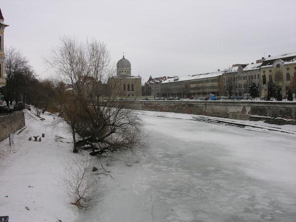 Oradea înzăpezită în 19 februarie 2012 #1