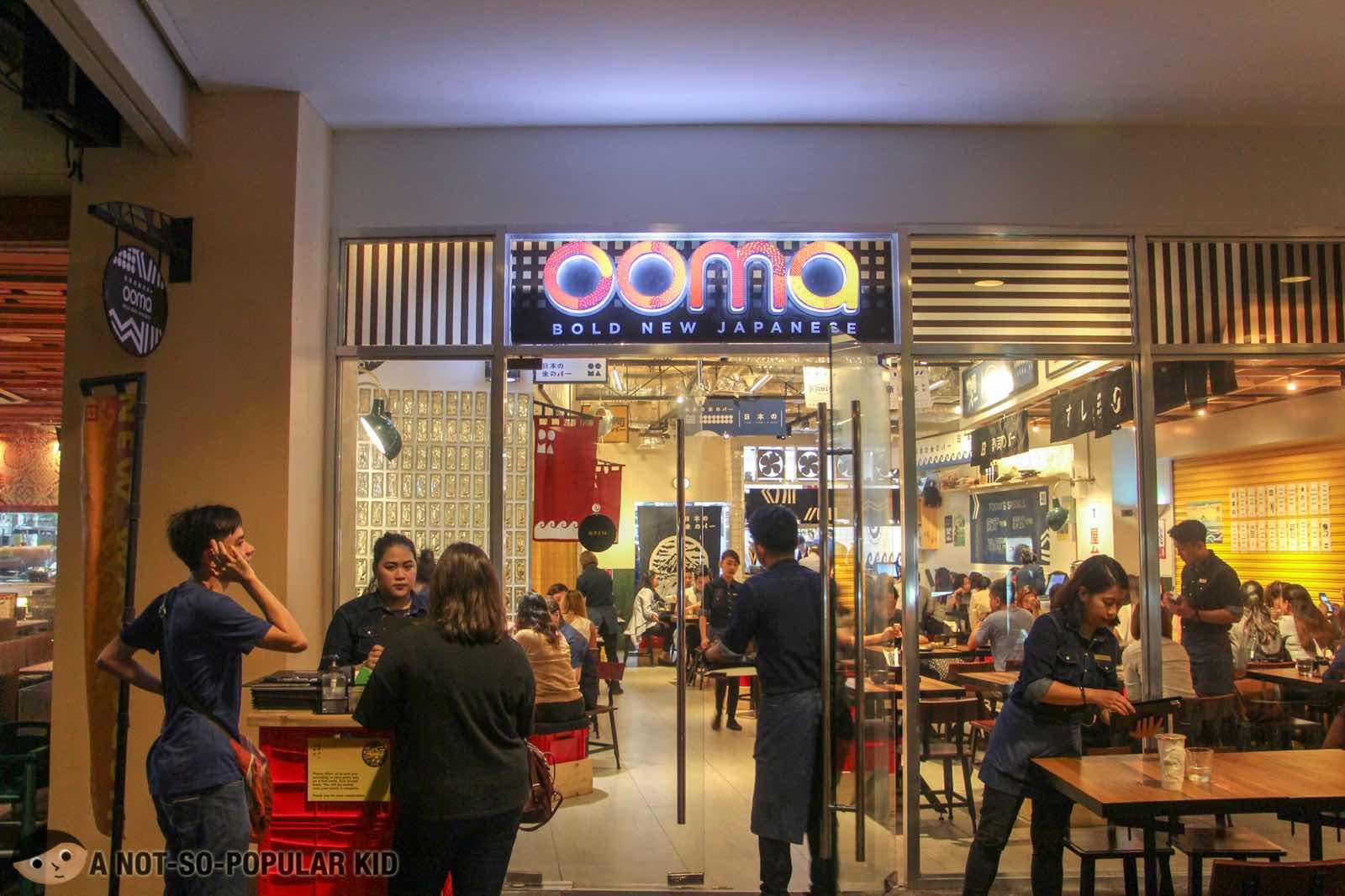 Ooma Facade in Greenbelt 3, Makati