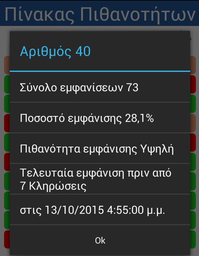 Kino Statistics - στιγμιότυπο οθόνης