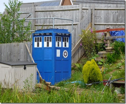 4 tardis in nuneaton