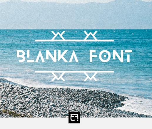 BLANKA Free Fonts