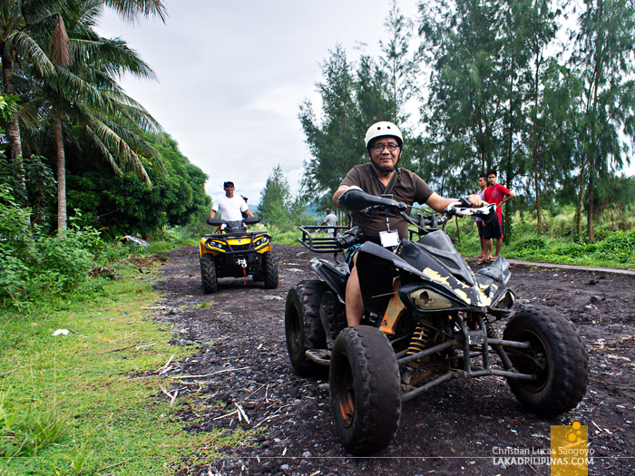 ATV Adventure through Mayon's Lava Trail