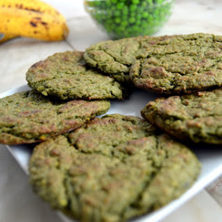 Green Pea Sweet and Salty Cookies.