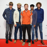 WWW.ENTSIMAGES.COM -    Kaiser Chiefs  arriving at       Jaguar XE - World premiere and  Global launch party at Earls Court Exhibition Centre, London September 8th 2014Jaguar premieres its new Jaguar XE car to press and VIPs                                               Photo Mobis Photos/OIC 0203 174 1069