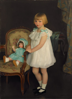 William McGregor Paxton - Portrait of Eleanor Anne Schrafft