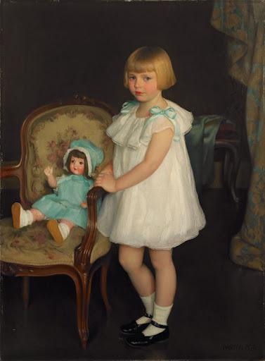 William McGregor Paxton - Portrait of Eleanor Anne Schrafft
