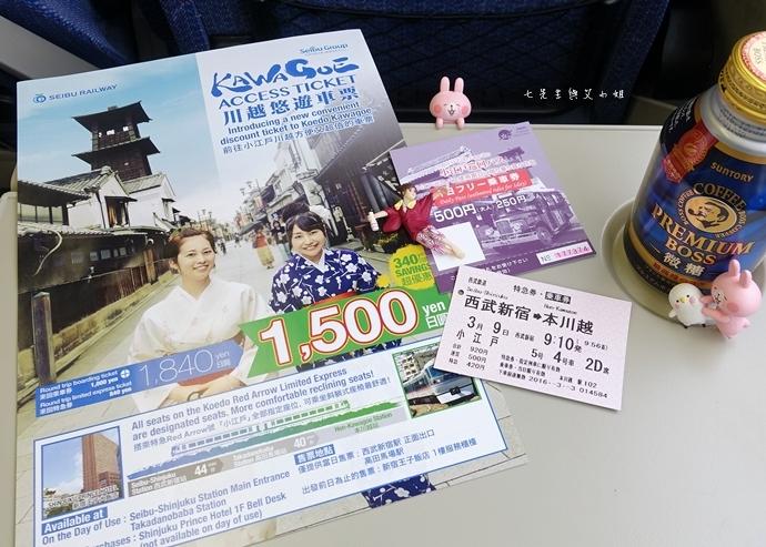 19 西武鐵道特急 川越一日遊 行程推薦