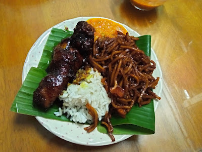 nasi ambang , makanan diet , sheisfarahain , menu diet