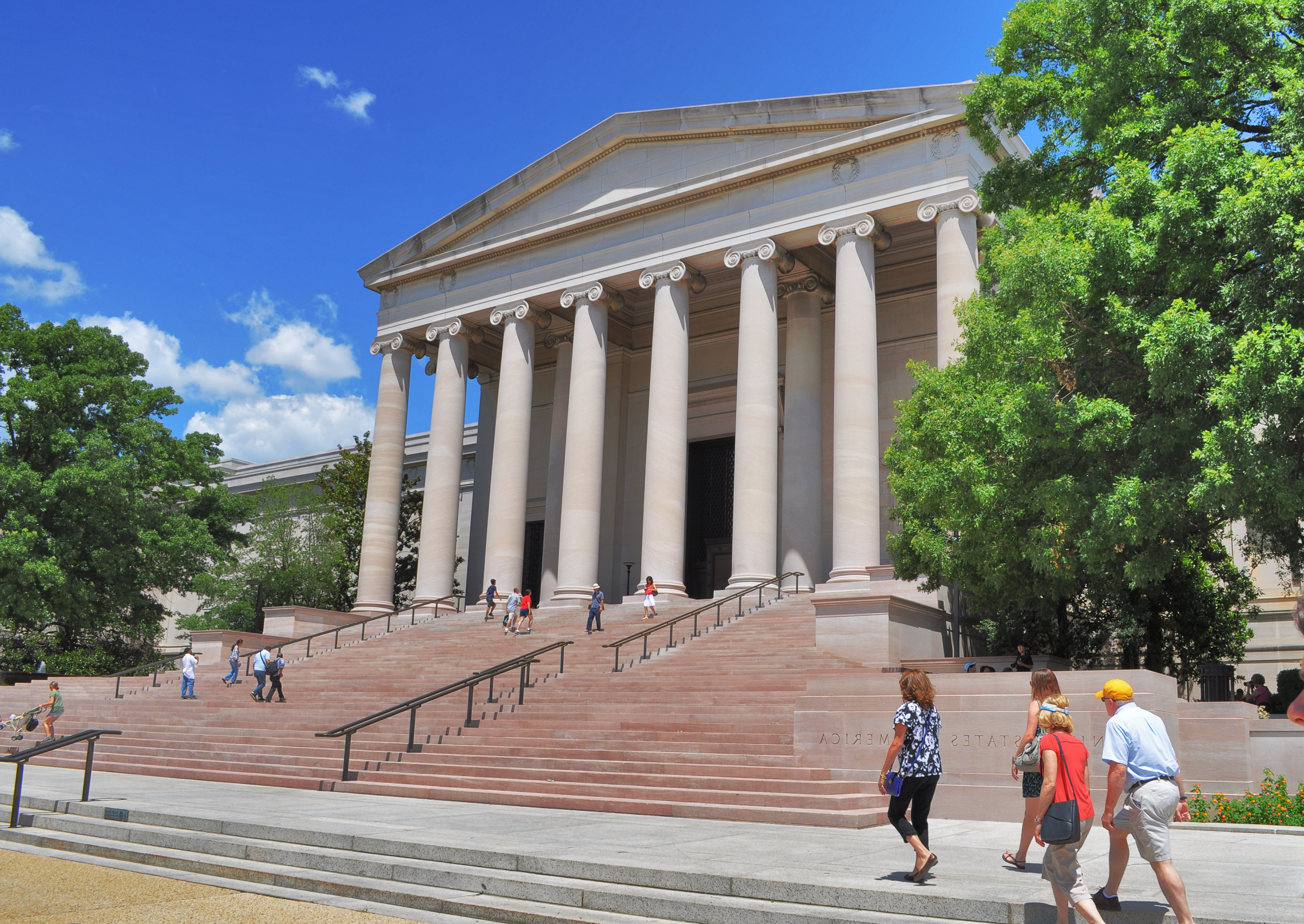 National Gallery Of Art, Smithsonian Museum – Architecture ...