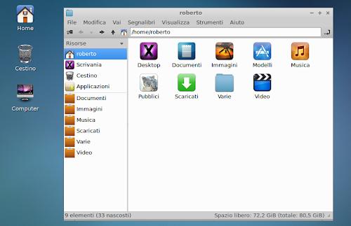 iLinux su Lxde