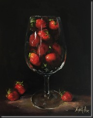 Straberries in Glass