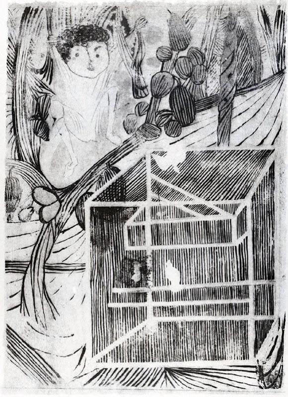 Gaiola - Candido Portinari,  illustrazione de Menino de Engenho