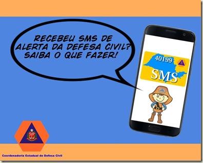 SMS Defesa Civil