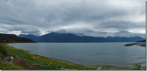 Haines Alaska view of Chilkoot Inlet