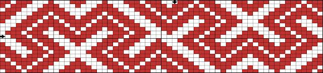 схема бисер сьтаночное ткачество