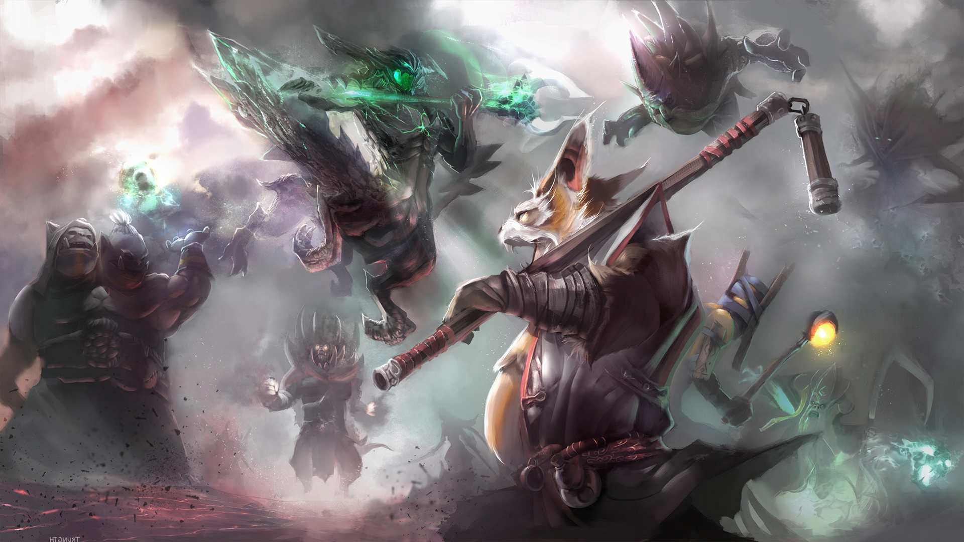 Brewmaster Wallpapers Dota 2 HD Wallpapers #2