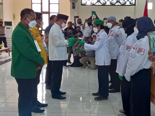 KPUD Kotabaru Tetapkan Bupati dan Wakil Bupati Terpilih