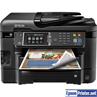 How to reset Epson WorkForce 321 by program