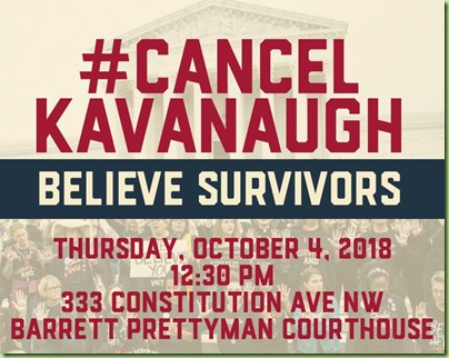 womens march against kavanaugh