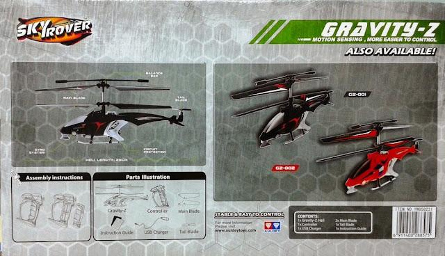 Đồ chơi Máy bay trực thăng điều khiển từ xa Gravity-Z Skyrover YW858231